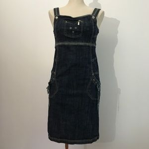Marie-Claire - Denim Sleeveless Dress